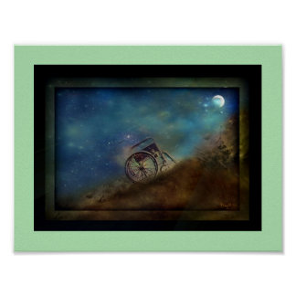 """Sleeping Under the Stars"" Poster"