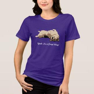 Sleeping Welsh Corgi T-Shirt