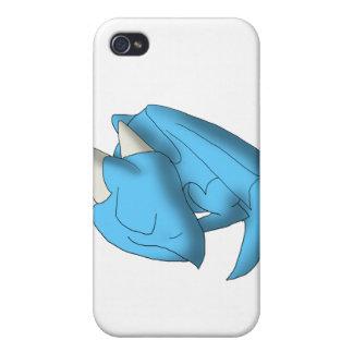 Sleeping Whelp Baby Dragon Fantasy Cartoon Art iPhone 4/4S Case