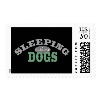SLEEPING with my DOGS Postage