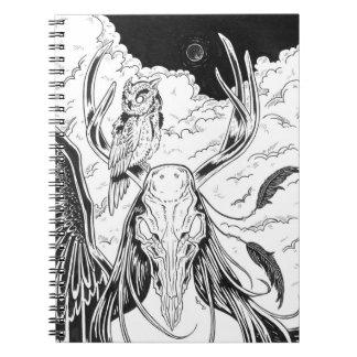Sleepless Nights Spiral Notebook