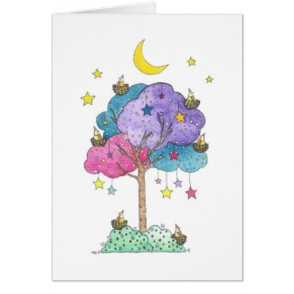 Sleepover card