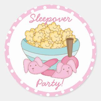 Sleepover Party Sticker