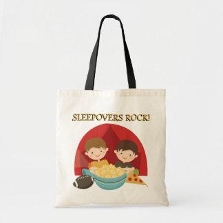 Sleepovers Rock Canvas Bag