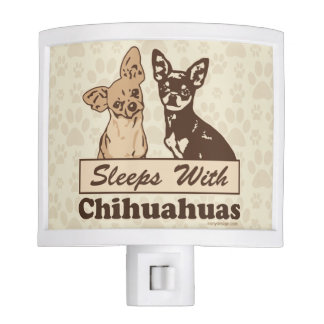 Sleeps With Chihuahuas Night Light