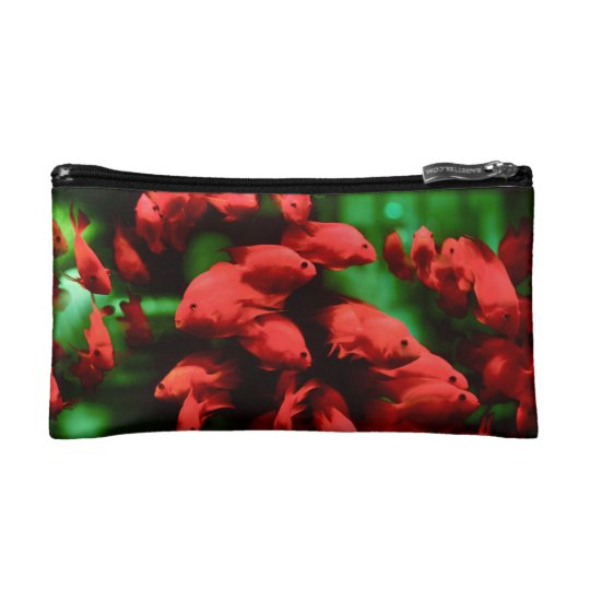 Sleeps with the fish cosmetic bag
