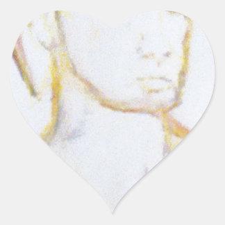 Sleepwalk conmigo pegatina en forma de corazón