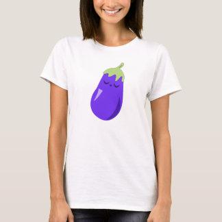 Sleepy Baby Eggplant T-shirt