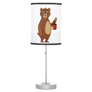 Sleepy Bear Courage Lamp