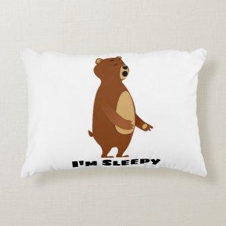 Sleepy Bear I'm Sleepy Pillow
