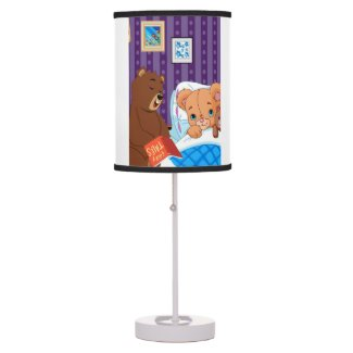 Sleepy Bear Lamp