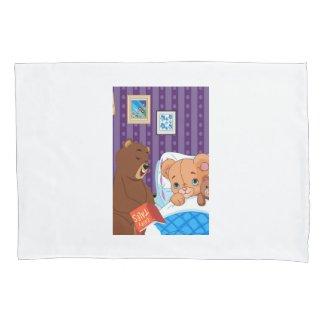 Sleepy Bear Pillow Case