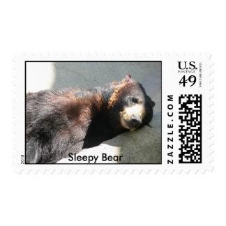 Sleepy Bear Postage