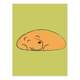 Sleepy Bear Postcard