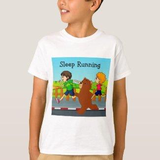 Sleepy Bear's Sleep Running T-Shirt