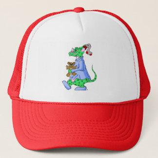 Sleepy Bedtime Monster Trucker Hat