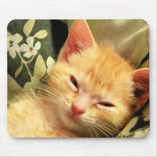 Sleepy Boy V Mouse Pad