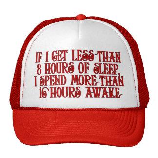 Sleepy Cap Trucker Hat