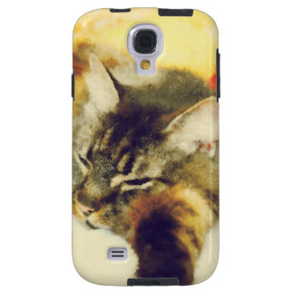 Sleepy Cat Galaxy S4 Case