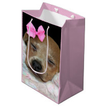 Sleepy Chihuahua dog Gift Bag