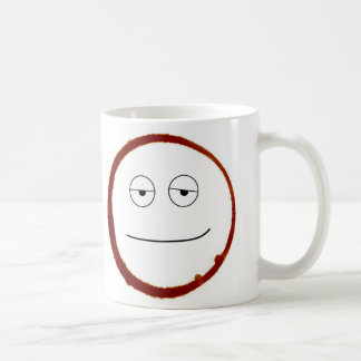 Sleepy coffee ring coffee mug