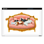 Sleepy Couch Cats Laptop Skin