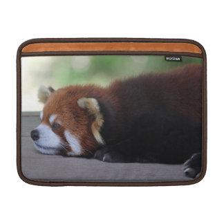 Sleepy cute Red panda photo MacBook Air Sleeves