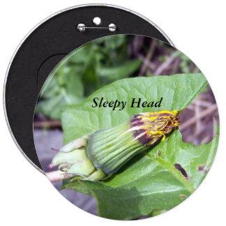 Sleepy Dandelion Button