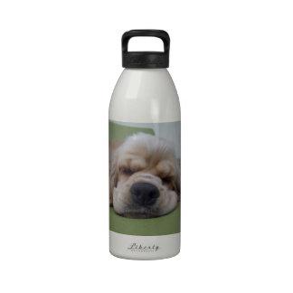 Sleepy Dog Drinking Bottle