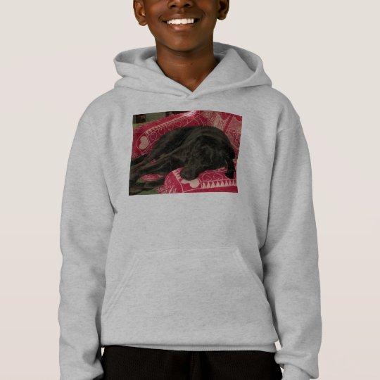 Sleepy Dog Kids Hooded Sweatshirt