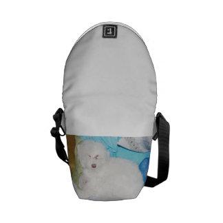 Sleepy Dog Messenger Bag