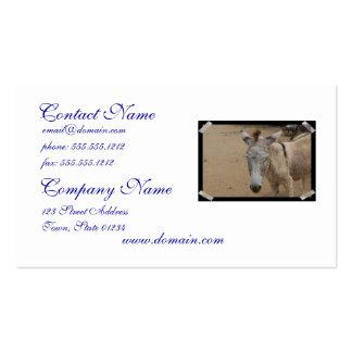 Sleepy Donkey Business Card Templates