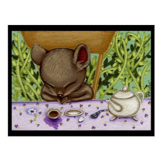 Sleepy Doormouse Postcard
