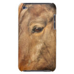 Sleepy Draft Horse iTouch Case Barely There iPod Covers