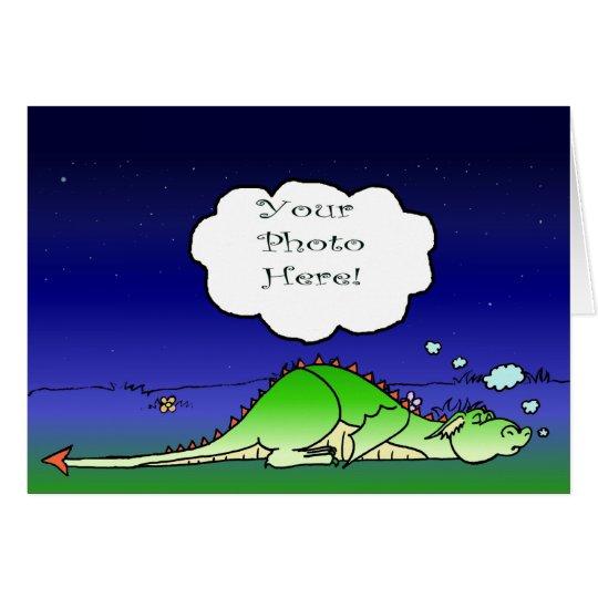 Sleepy Dragon NoteCard