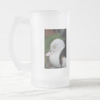 Sleepy Duck Frosted Mug