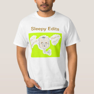 """Sleepy Edits"" Value T-Shirt"