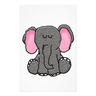 Sleepy Elephant Stationery