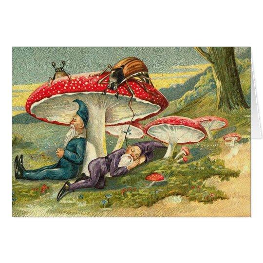Sleepy Elves Card
