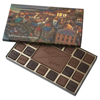 Sleepy Fishing Village 45 Piece Box Of Chocolates