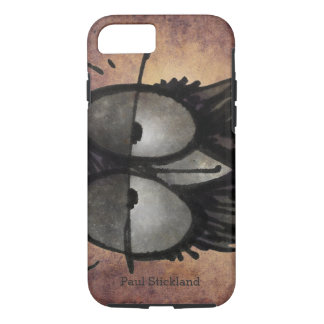 Sleepy Funny Owl iPhone 7 Case