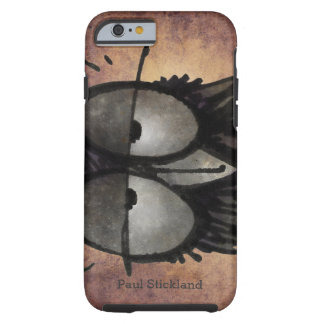 Sleepy Funny Owl Tough iPhone 6 Case