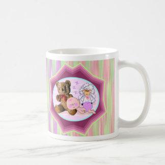 Sleepy Girl Baby Gifts Coffee Mug