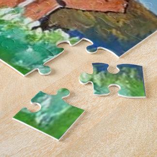 SLEEPY GNOME 8x10 Photo Puzzle with Gift Box