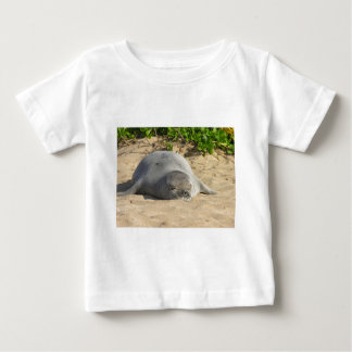 Sleepy Hawaiian Monk Seal Shirt