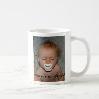 sleepy head, Where's my coffee? Coffee Mug