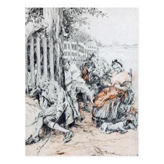 Sleepy Hollow: A Drowsy, Dreamy Influence Postcard