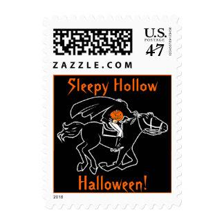 Sleepy Hollow Halloween Postage Stamp Sleepyhollow