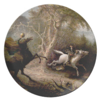 Sleepy Hollow Headless Horseman Plate