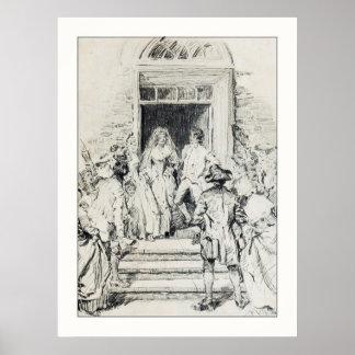 Sleepy Hollow: Katrina to the Altar Print